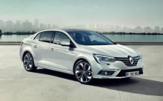 Полностью новый Renault Megane Sedan 2017