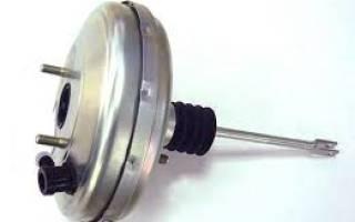 Замена вакуумного усилителя тормозов на ВАЗ
