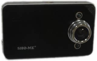 ТОП-22 компактных автомобильных видеорегистратора SHO-ME