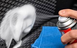 Средство для чистки сидений автомобиля