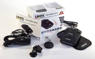 Радар-детектор iBox 800 Pro с GPS модулем