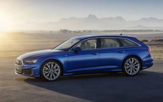 Обзор Audi A6 Avant 2019