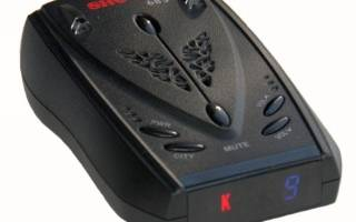 Антирадар SHO-ME 685 с матовым покрытием