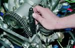Как натянуть цепь на ВАЗ 2107
