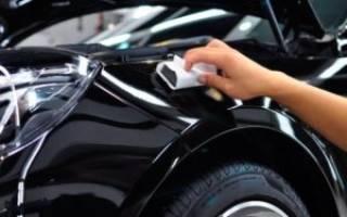 Как защитить машину от сколов