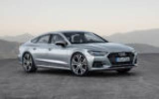 Обзор Audi A7 Sportback 2018