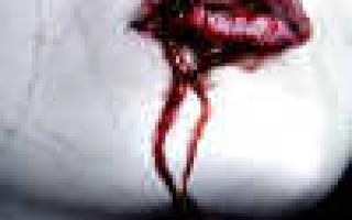 Аэрография кровь: вариации рисунков