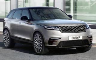 Новый кроссовер Land Rover Range Rover Velar