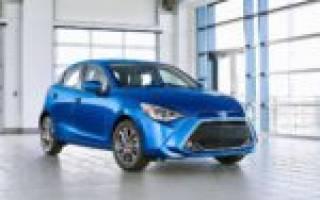 Обновленный хэтчбек Тойота Ярис для стран Азии