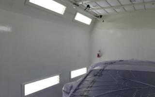 Малярная камера своими руками для качественной покраски