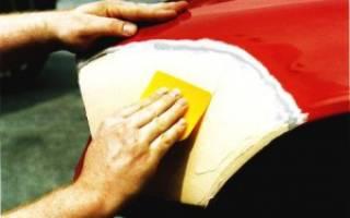 Как правильно шпаклевать машину