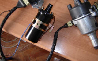 Установка бесконтактного электронного зажигания