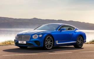 Заряженный Bentley Continental GT 2018