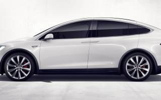 Tesla Model X уже в Украине