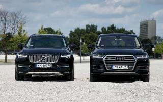 Выбрать лучше Audi Q7 или Volvo XC90 для семьи?