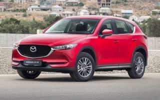 Рублевая цена нового кроссовера Mazda CX