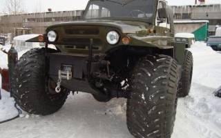 Шины низкого давления на УАЗ и другие модели