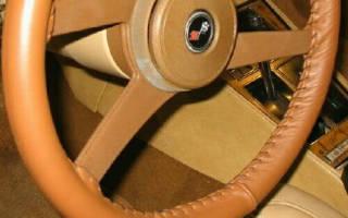 Оплётка на руль своими руками