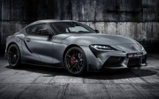 Новые подробности Toyota Supra 2019