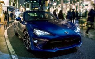 Обзор нового спорткара Toyota 86 2017
