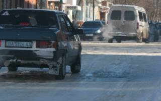 Как бороться с заносом автомобиля снегом
