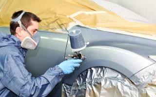 Покраска кузова автомобиля в гаражных условиях