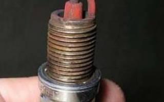 Причины белого нагара на свечах зажигания инжектора