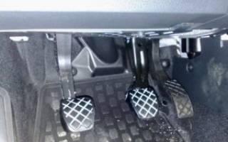 Блокиратор педали тормоза автомобиля своими руками