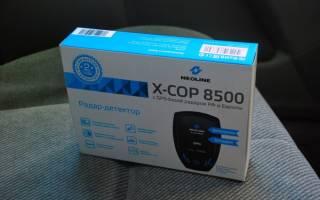 Радар-детектор Neoline X-COP 8500 со встроенным GPS-модулем