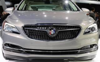 Buick LaCrosse 2017, новый американский седан