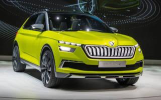 Skoda Vision X Concept 2019