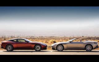 Новый Aston Martin DBS Superleggera