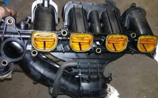 Ремонт и чистка впускного коллектора автомобиля