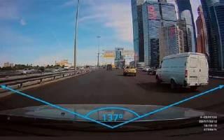 Как подобрать угол обзора автомобильного видеорегистратора