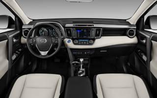 Встречаем новый Toyota RAV4 Hybrid 2016