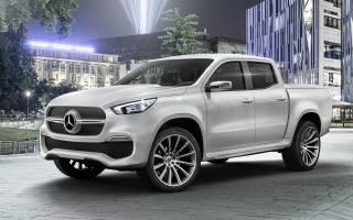 Mercedes представил концепт пикапа X