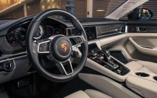 Заряженный гибрид Porsche Panamera
