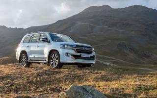 Обновленный Toyota Land Cruiser 200 2019
