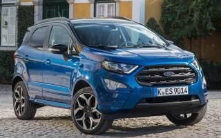 Новый кроссовер Ford EcoSport 2018