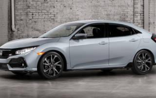 Новый хэтчбек Honda Civic Turbo