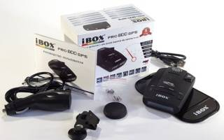 Эксплуатация и обновление антирадара iBOX Pro 100 GPS