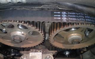 Как поменять ремень генератора, гидроусилителя и ГРМ