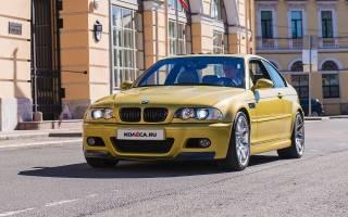 Характеристики BMW M3 E46