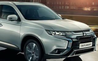 Новая версия Mitsubishi Outlander в России