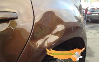 Дефекты покраски автомобиля
