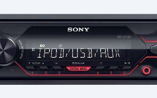 Обзор автомагнитолы Sony (Сони) DSX-A210UI с ЖК-монитором